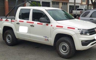 Volkswagen Amarok Doble Cabina 4×4 Diesel Mecánica Servicio Público Operación Nacional