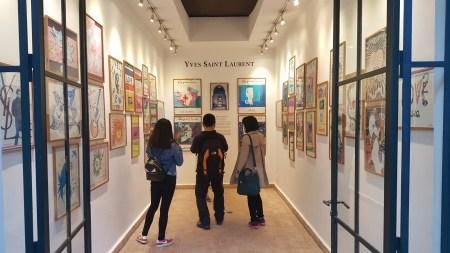 Yves Saint Lauren gallery. Marrakesh.