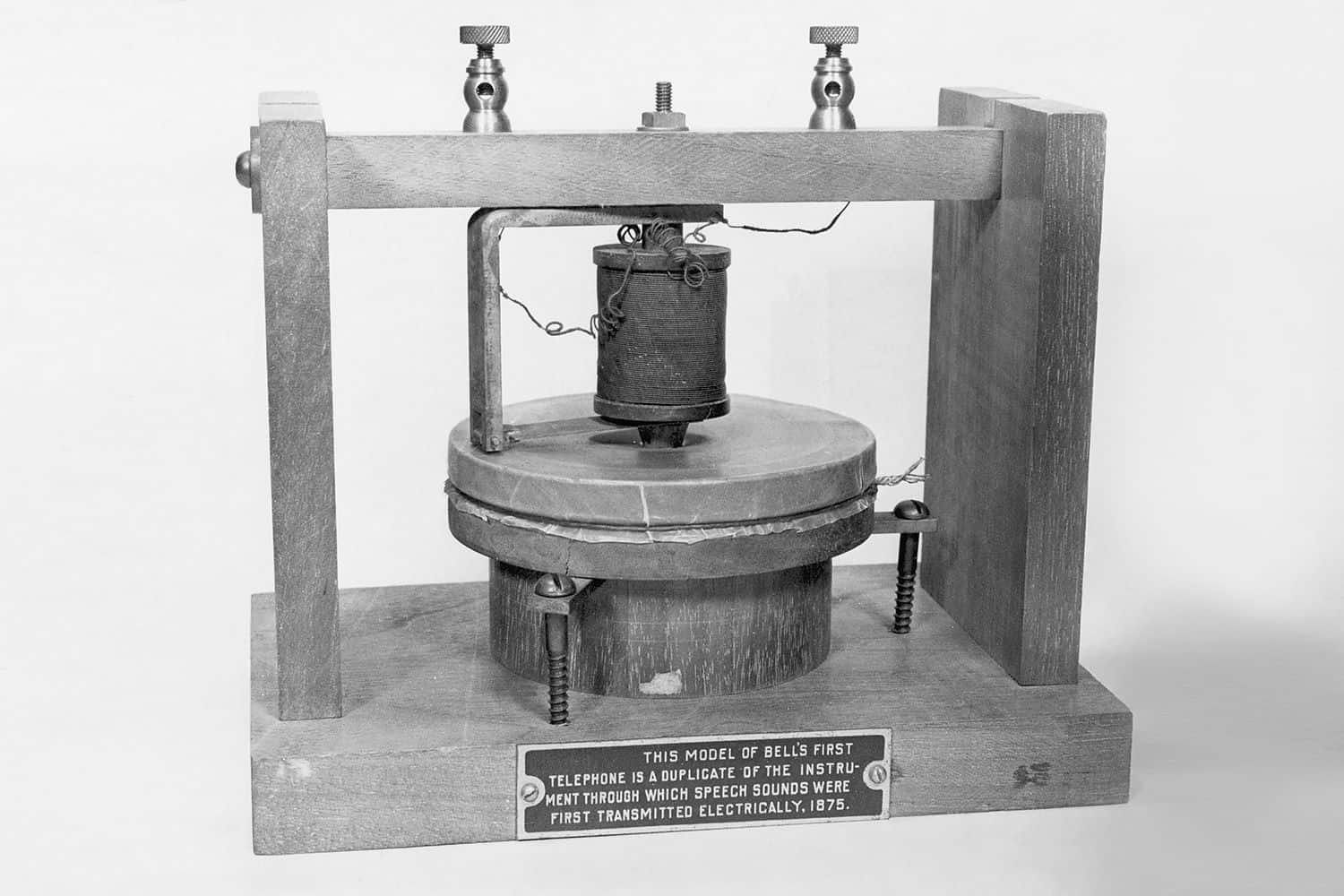 Bell S First Telephone
