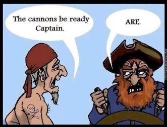 Grammar Pirates Meme