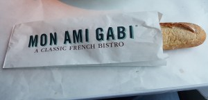 Mon Ami Gabi's perfect French loaf