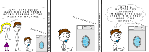 signs of a future translator - washing machine