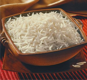 Choose any brand you like, but make sure it is not packed in a cloth bag, as that makes the rice stale and it tastes like dust! #Yuck
