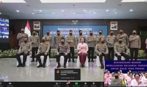 Bhayangkari Polres Simalungun Upacara Secara Virtual Peringatan (HKGB) ke-69 Tahun 2021