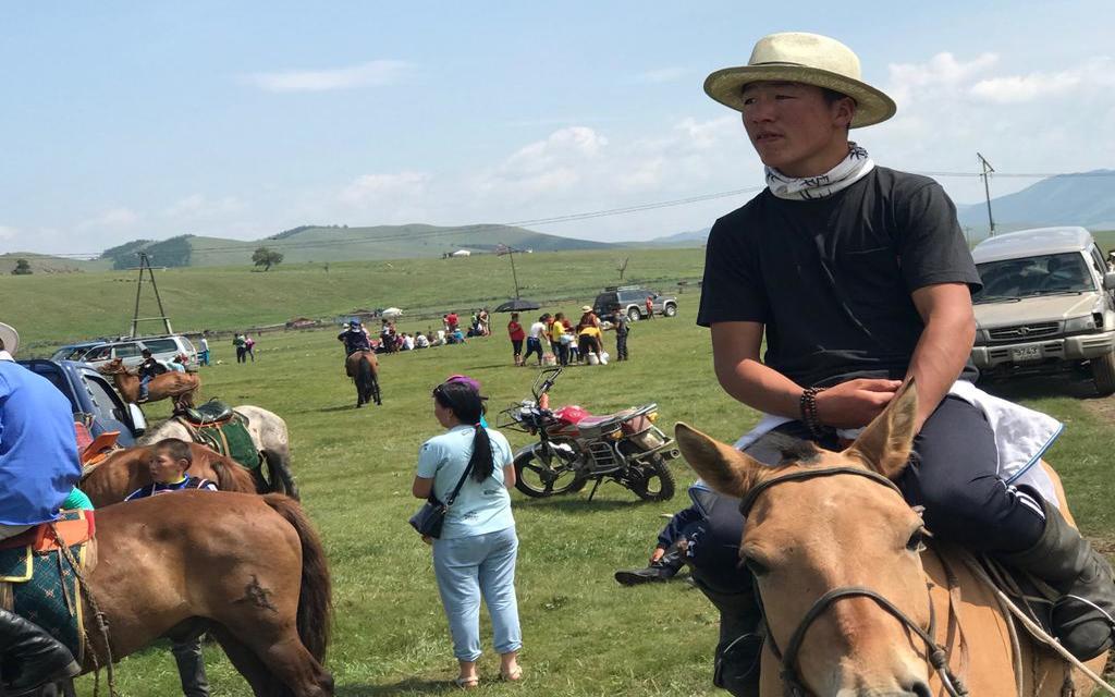 Nomadentreffen in der Mongolei