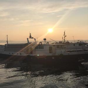 Fischerboot am Baikalsee