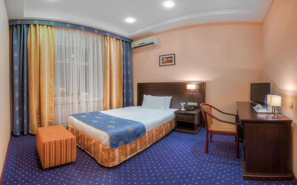 Einzelzimmer im Hotel Baikal Plaza in Ulan Ude