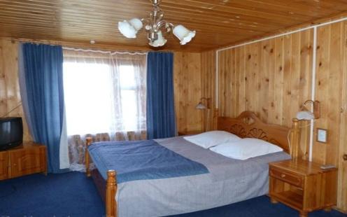 Doppelzimmer im Hotel Baikalskije Terema