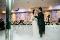 Australian wedding couple dancing at reception first dance