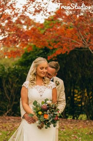 Australian Bride & Groom at Rhodedendron Gardens Wollongong