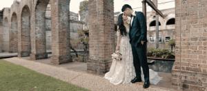 Beautiful Asian Chinese Wedding Bride and Groom at Paddington Reservoir Sydney