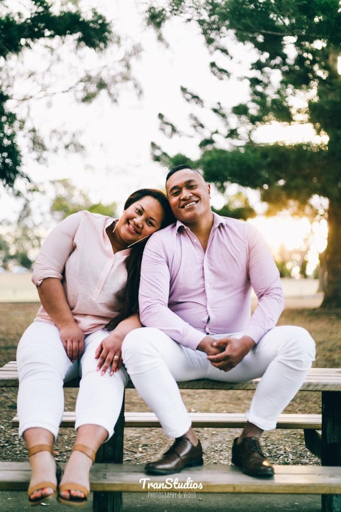 Akata & Nekori Engagement Photoshoot at Old Government House Parramatta Park