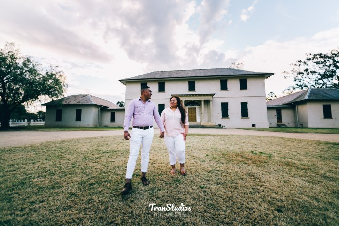 Akata & Nekori Engagement Photoshoot at Old Government House Parramatta Park