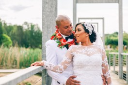 beautiful tongan bride and groom portrait shoot
