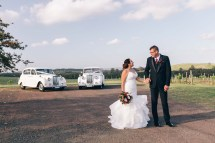 beautiful spanish bride with australian groom in hunter valley vintage