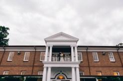 Bride & Groom Wedding at Cropley House