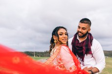beautiful fijian indian bride and groom