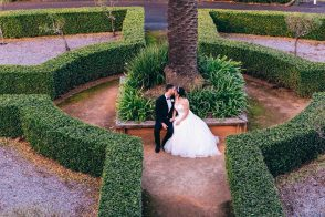 Australian bride and groom at cropley house wedding_04