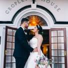 Australian bride and groom at cropley house wedding_02