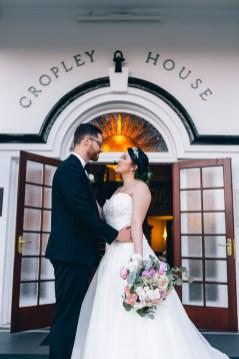 Australian bride and groom at cropley house wedding_02