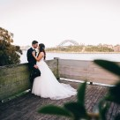 Beautiful Bride & Groom Wedding at Balmain Wharf Sydney