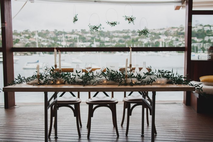 Sydney wedding planner decorations