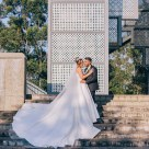 Beautiful Egyptian Wedding Couple at Bicentennial Park Homebush Sydney_10
