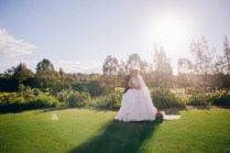 Bride and groom hold each other at Stonecutters ridge golf club_04
