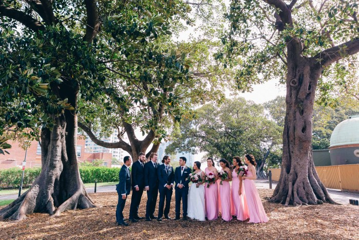 Sydney Observatory Hill Wedding Photography_002