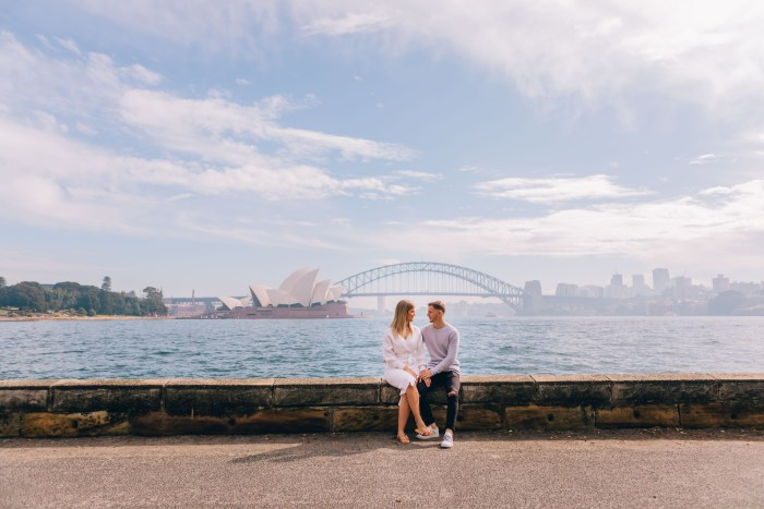 Mrs Macquarie's Chair Prewedding Photography_07