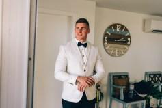 Dapper Groom in Suit
