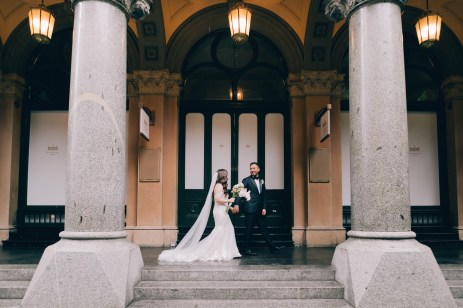 Australia Post - Sydney GPO Martin Place Wedding Photography 04
