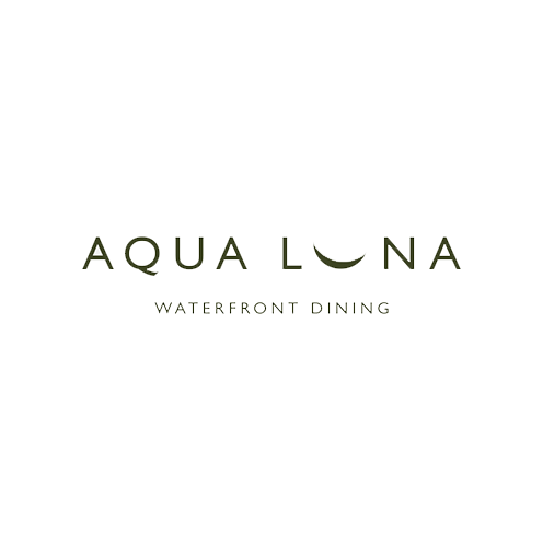 Aqua Luna Waterfront Dining Wedding Logo
