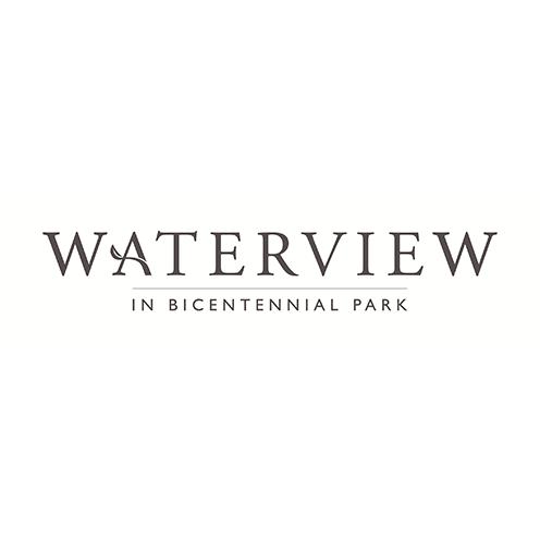 Waterview in Bicentennial Park Wedding Logo