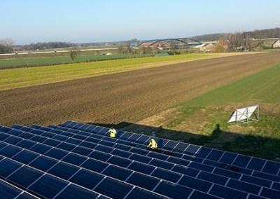 126,9 kW saulės elektrinė Lehrte, Vokietija