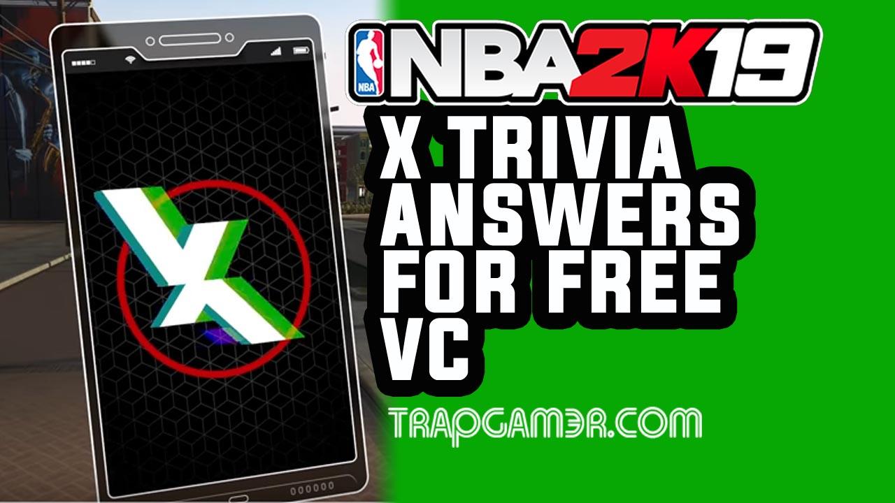 NBA 2K19 X Trivia Answers | Trap Gamer