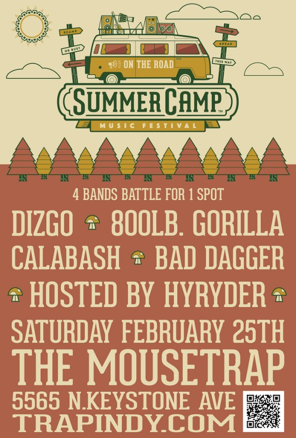 Summer Camp: On the Road - Saturday, February 25th