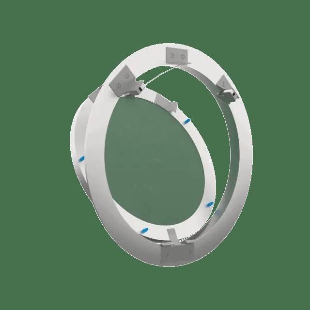 Trappe de visite Rondo ouverture pousser lâcher trape de visite plaque de platre eco rondo 360 0 7