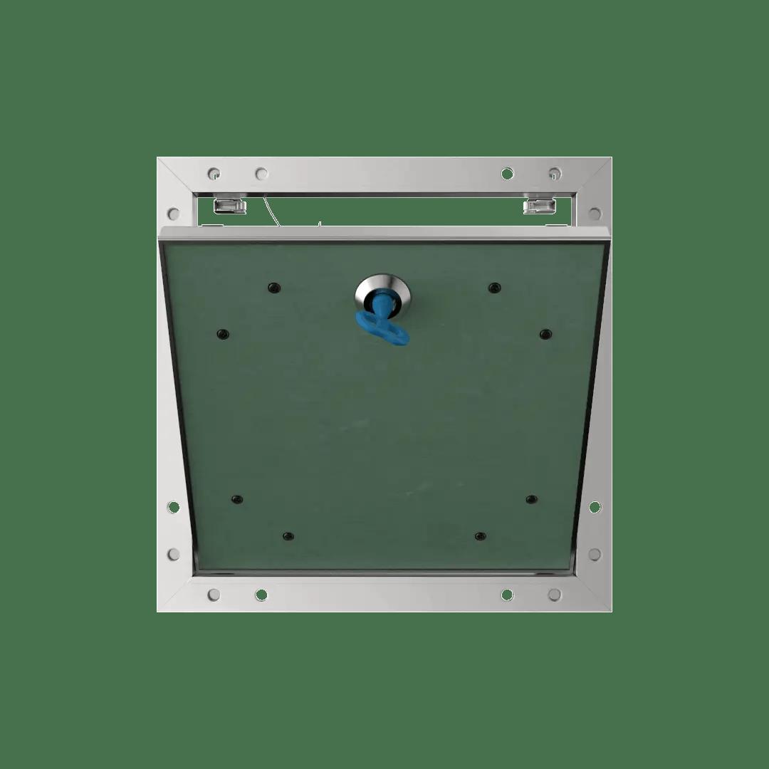 Trappe de visite plaque de plâtre 18 mm Eco Star trape de visite plaque de platre alustar 4 pans ouvert