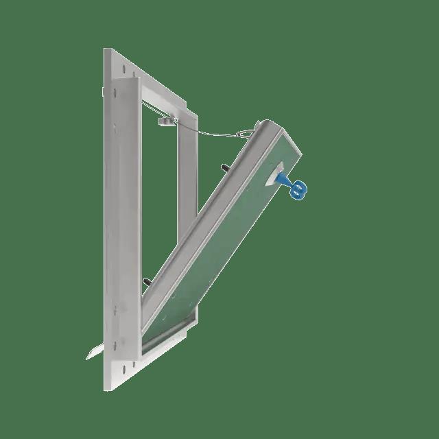 Trappe de visite plaque de plâtre 18 mm Eco Star trape de visite plaque de platre eco star 360 0 15