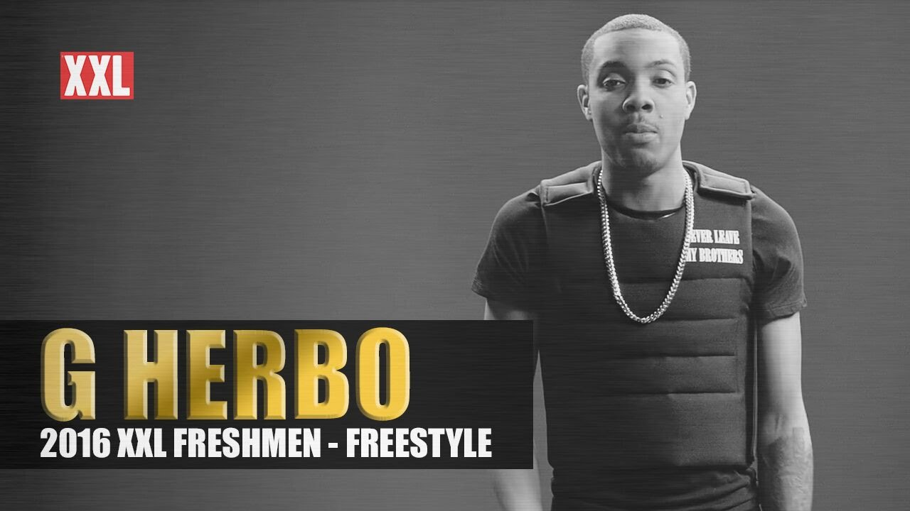 Video G Herbo XXL Freshman 2016 Freestyle Traps N Trunks