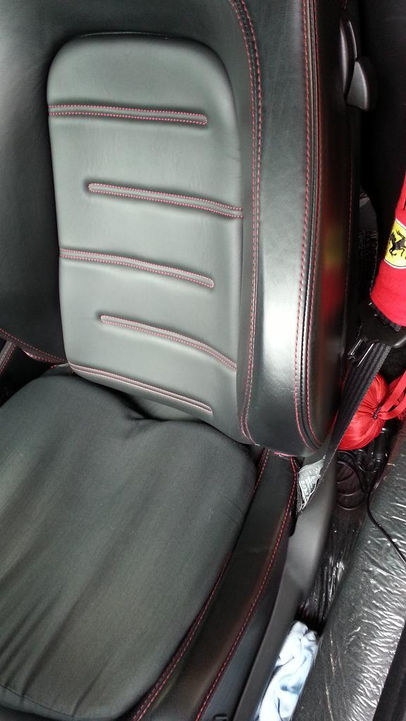 フェラーリ430シートアフター