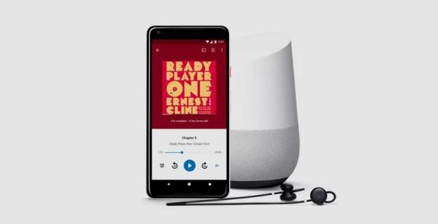 В Google Play появился раздел саудиокнигами