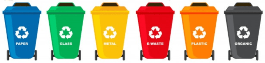Different Types of Waste Bins
