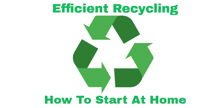 Efficient Recycling