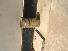 Outdoor Metal Trash Can