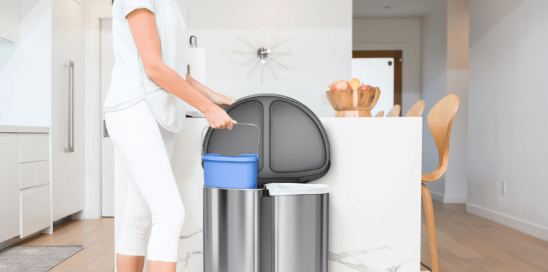 Best Kitchen Trash Cans Useful And Decorative Trash Can