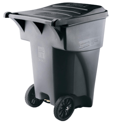 rubbermaid commercial outdoor trash cans