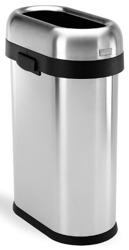simplehuman 50l stainless steel trash can