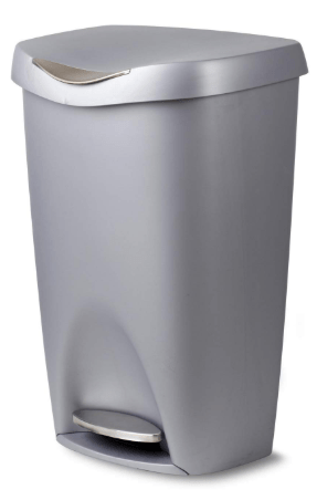 Umbra Brim 13 Gallon Trash Can with Lid